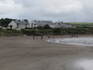 Ballinskelligs beach is in county kerry