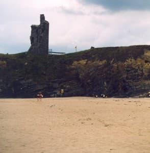 Ballybunion beach stretches