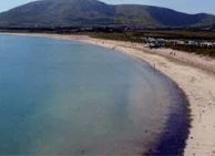 Ventry beach outside dingle in county kerry