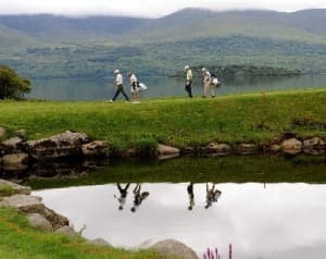 Killarney Golf Course in County Kerry Ireland